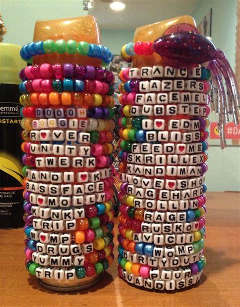 custom kandi bracelet package