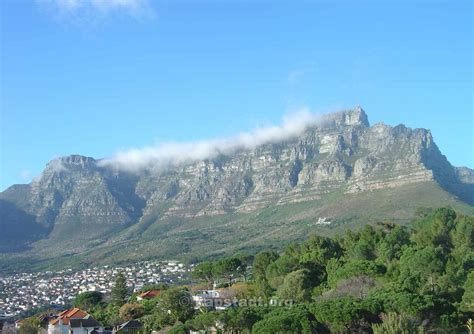 table mountain the landmark of cape town