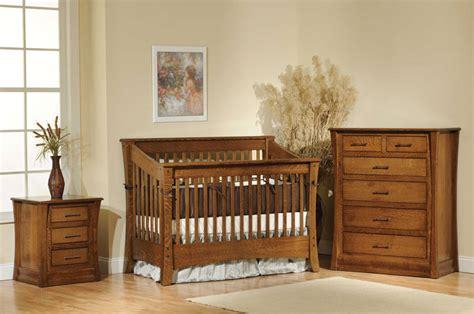 Oak Cribs by Carlisle Crib Ohio Hardwood Furniture