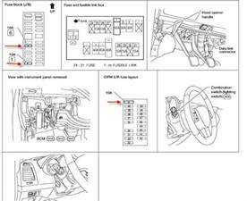 2002 Nissan Altima Fuse Box Diagram Nissan Altima Light Fuse Box Diagram Nissan Free