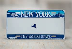 Ny Vanity Plates by New York License Plates Ny Custom State License Plate 549