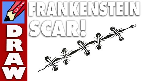 How To Remove Yourself From Find Search How To Draw A Frankenstein Scar Real Easy