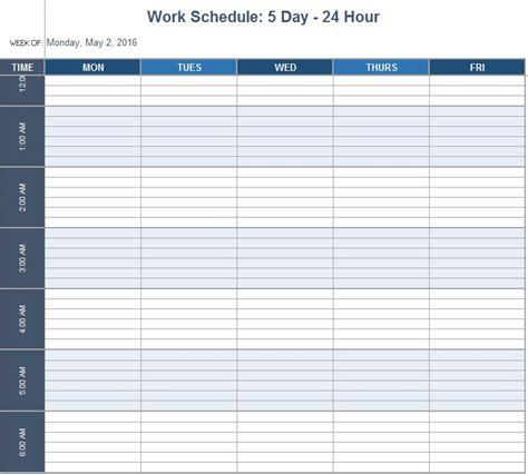 department schedule template office schedule template 9 free templates schedule