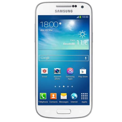 samsung galaxy mini s4 samsung galaxy s4 mini blanc achat smartphone pas cher