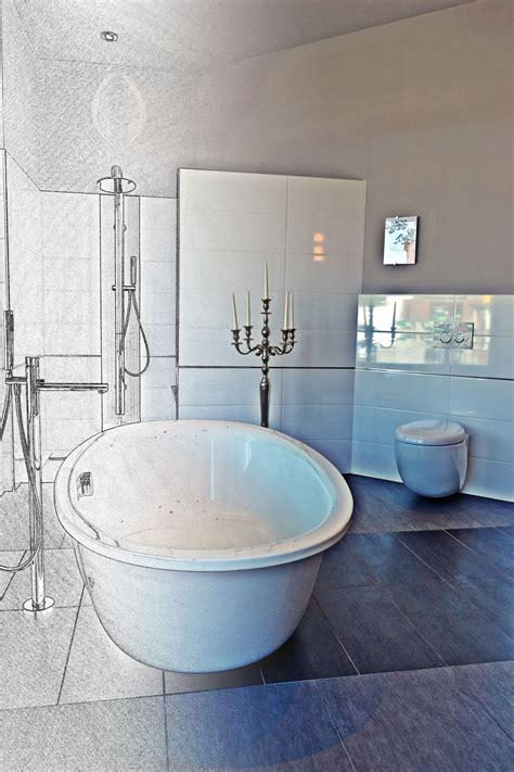 Badezimmer In Einer Tasche by Luxus Pur Die Freistehende Badewanne Steht F 252 R Exklusivit 228 T