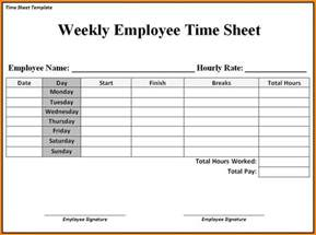 Weekly Timesheet Template Printable by Top Simple Weekly Time Sheets Printable Wallpapers