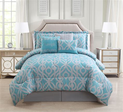 piece laugh spagray comforter set