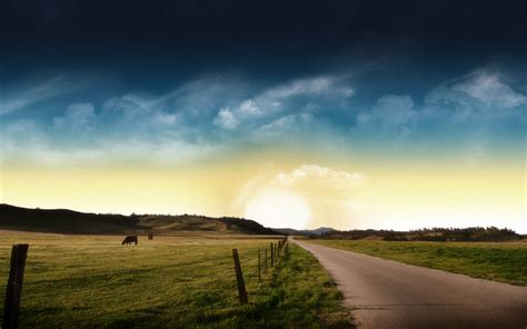 wallpapers for desktop photography wallpapers prairie road nature wallpapers