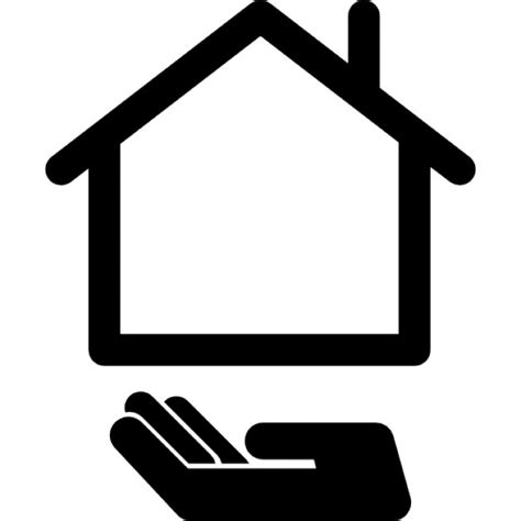 Buying A House Property Icons Free Download