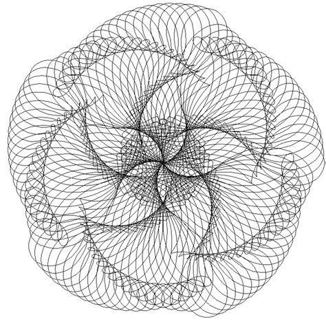 Spirograph Pattern Drawing Design spirograph patterns