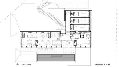 waterfront floor plans v shaped house plans waterfront waterfront house plan