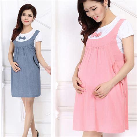 Dress Ibu Bumil Rok Terusan Bumil Maternity Dress M til gaya saat bisa banget www cosmomom net