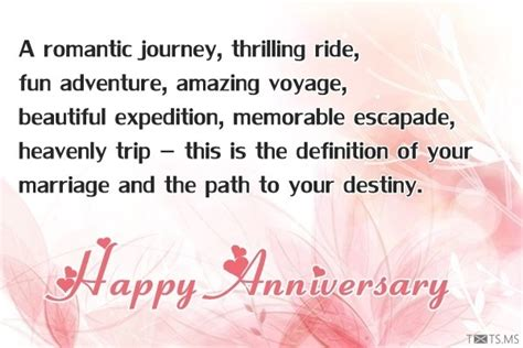 Wedding Anniversary Journey Quotes by Happy Anniversary Wishes Quotes Messages Images For