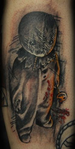 trick r treat inspired tattoo i love it body