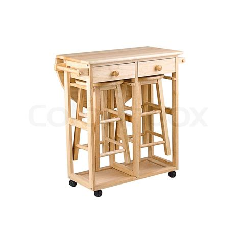 folding table for small kitchen folding and movable wooden table with drawers for small