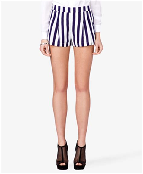 Striped Shorts vertical striped shorts forever 21 2026815440