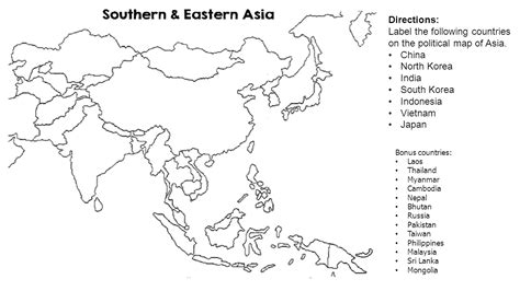 printable map southeast asia blank map of the southeast philippines printable blank