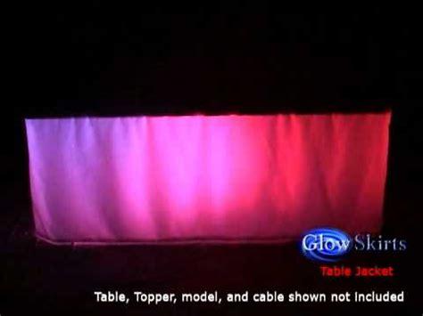 dj skirts table jacket glow skirts table jacket by dj skirts
