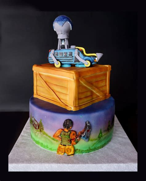 fortnite birthday cake fortnite cake cake by dragana cakesdecor