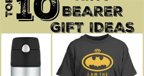 top 10 ring bearer gift ideas a on a budget