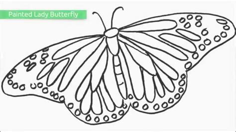 butterfly coloring pages momjunction top 25 free printable butterfly coloring pages youtube