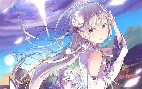 Emilia Rezero Kara Hajimeru Isekai Seikatsu Phone 1 fan anime re zero kara hajimeru isekai seikatsu emilia re zero wallpaper no