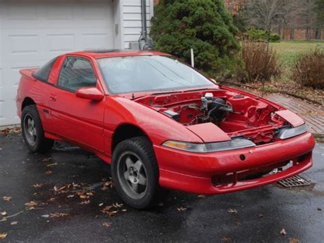1990 mitsubishi eclipse gsx race shell 1g dsm talon turbo 4g63 for sale photos technical