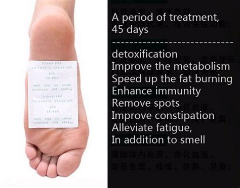 Detox To Lose Leg by Detox Foot Lose Weight Fast Sticker Healthy