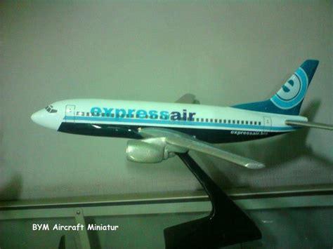 Miniatur Pesawat Boeing 747 400 19 Cm Klm Airlines bym aircraft miniature