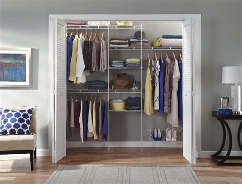 Closetmaid Shelf And Rod Installation Closet Storage Products Wire Closetmaid Professional