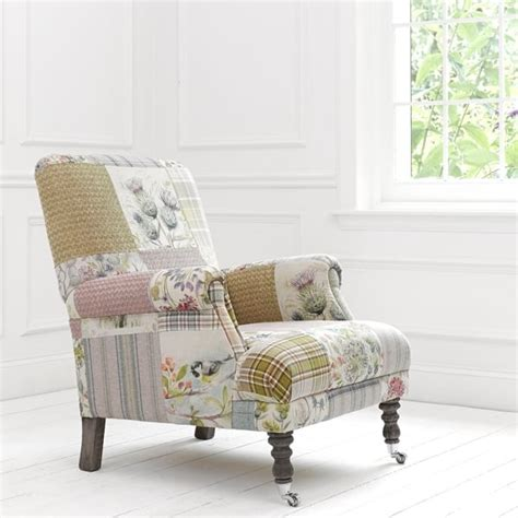 Patchwork Chairs - voyage maison acanthus hedgerow patchwork chair at