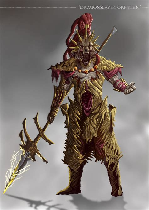 The The Soul Slayer grimdark souls dragonslayer ornstein by sanekyle on