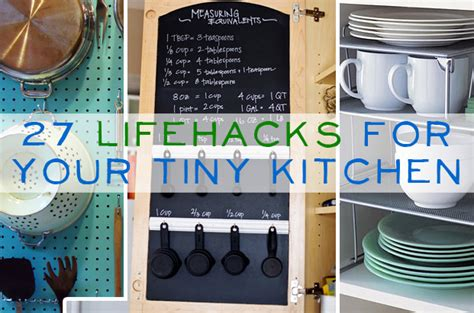 kitchen hacks 27 lifehacks for your tiny kitchen our home sweet home