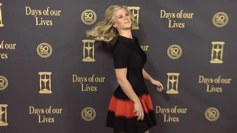 Days Of Our Lives Wardrobe by Alison Sweeney Carpet Style At Days Of Our Lives 50 Anniversary