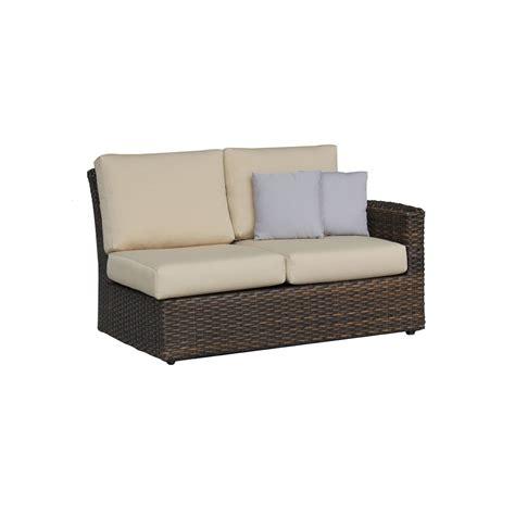 Non Toxic Sofas Ratana Portfino Sectional Two Seater Right Arm Love Seat
