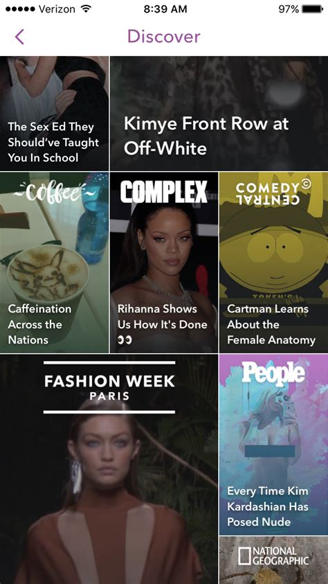 snapchat s discover section is the new tabloid rack