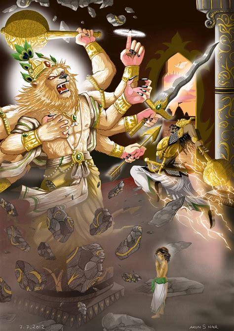 lord narasimha dev digi paint narasimha pillar break part 1 by nairarun15 on