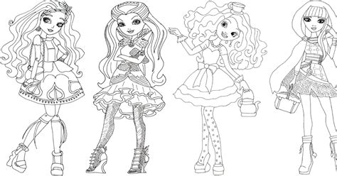 ever after high coloring pages pdf free printable ever after high coloring pages cedar