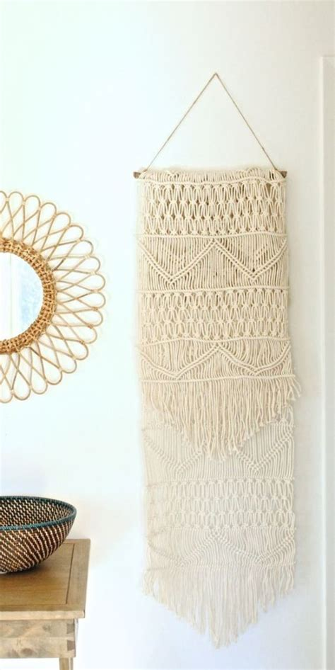 Make Macrame Wall Hangings - bhg style spotters