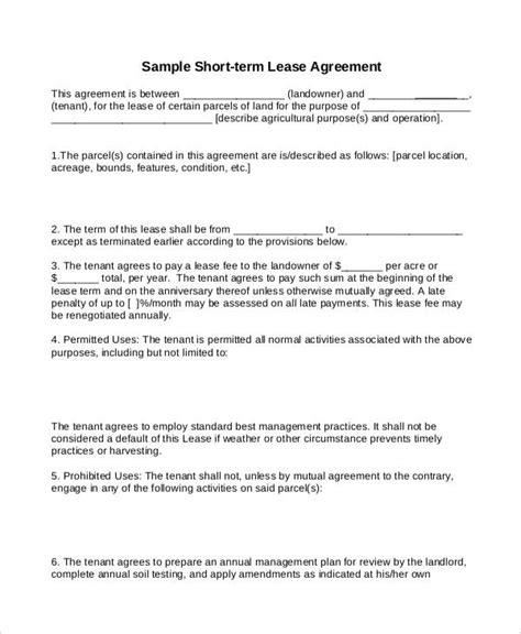 renting contract template template lease contract template geotrackintl