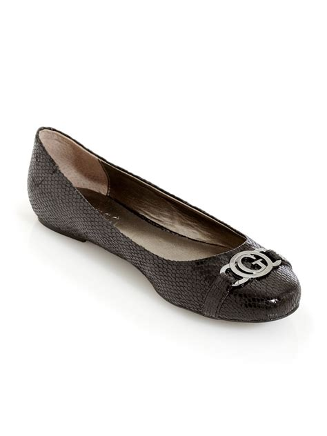 guess flat shoes guess claira ballet flats ebay