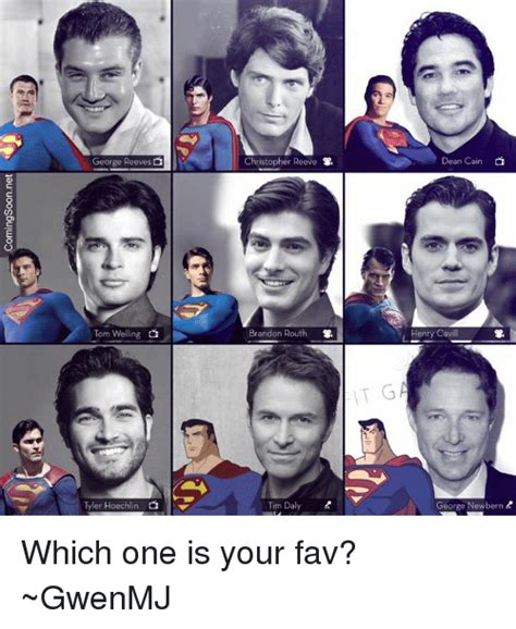 christopher reeve vs brandon routh george reeves tom welling tyler hoechlin di christopher