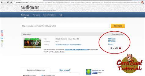 kemetot chomel tutorial auto youtube player cara cepat download vidio youtube cara buat tutorials