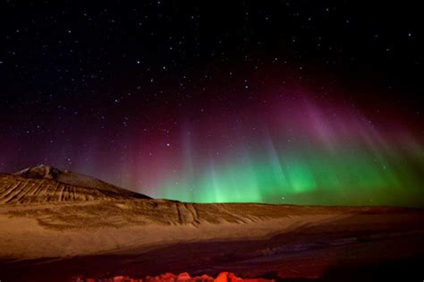 southern lights beauty from the bottom of the world