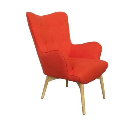 fauteuil orange design fauteuil orange style scandinave