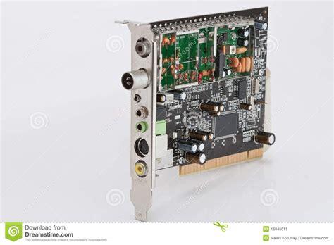 Bor Tuner Modern Computer Board Tv Tuner Stock Image Image 16845011
