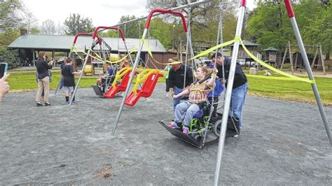 why do people swing the stokes news special needs playground opens in germanton