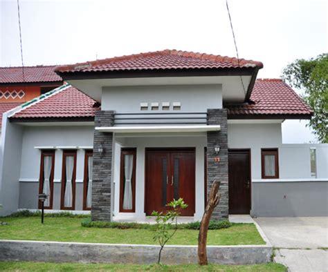 rumah sederhana  elegant  gambar tampak depan rumah