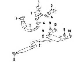 Pontiac G6 Exhaust System Parts 2006 Pontiac G6 Parts Gm Parts Department Buy Genuine