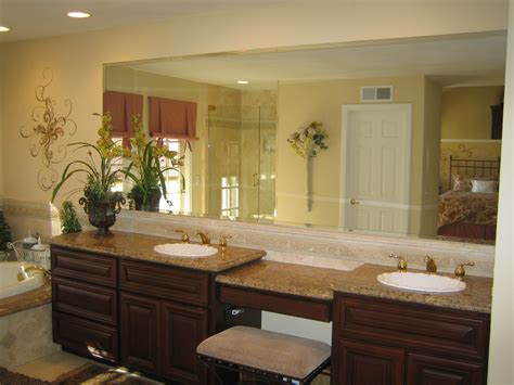 custom bathroom vanity mirrors custom mirrors glass and mirror pros